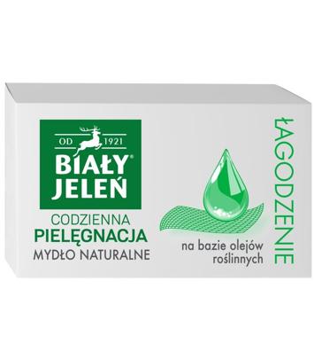 Biały Jeleń Mydło hipoalergiczne naturalne mydło Łagodzenie 85g