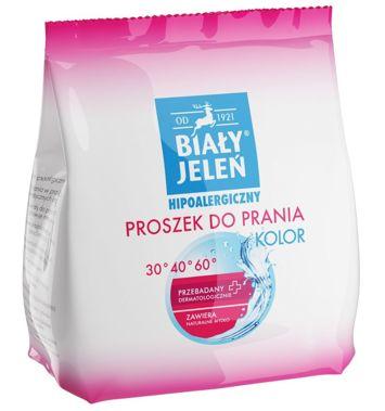 Biały Jeleń Proszek do prania hipoalergiczny Kolor 850 g