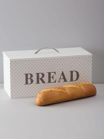 Biały pojemnik na chleb