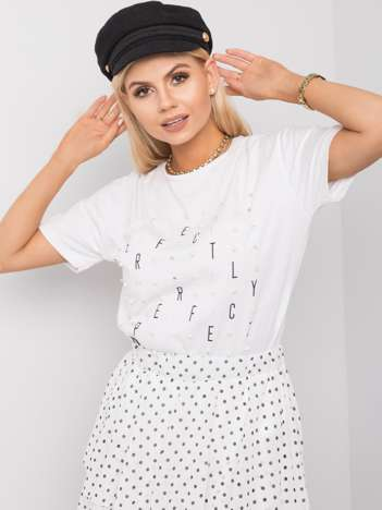 Biały t-shirt Luciana