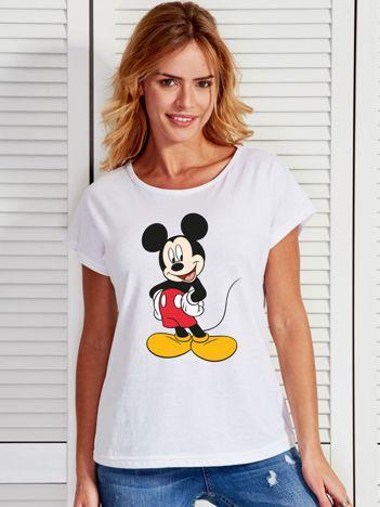 Biały t-shirt MYSZKA MICKEY