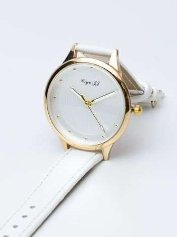 Biały zegarek damski