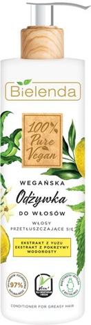 """Bielenda 100% Pure Vegan Wegańska Odżywka do włosów przetłuszczających się 240ml"""""""
