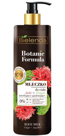 Bielenda Botanic Formula Imbir+Dzięgiel Mleczko do ciała nawilżająco-ujędrniające 400ml