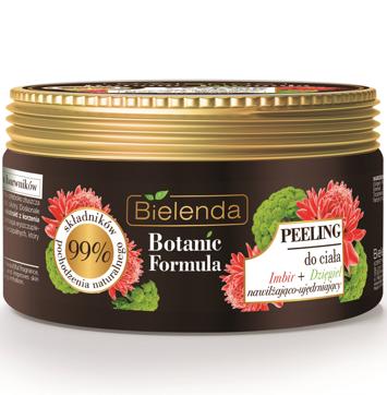 Bielenda Botanic Formula Imbir+Dzięgiel Peeling do ciała 350 g