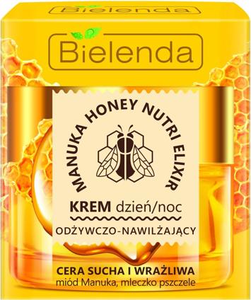 Bielenda Manuka Honey Nutri Elixir Krem odżywczo-nawilżający na dzień i noc 50 ml