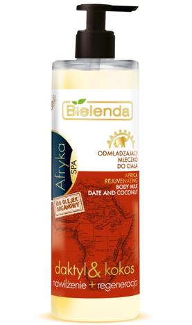 Bielenda Spa Afryka Mleczko kokosowo-daktylowe do ciała 250 ml