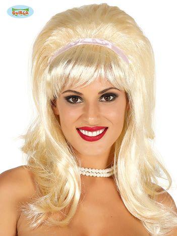 Blond peruka z opaską