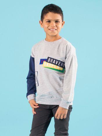 Bluza bez kaptura dla chłopca
