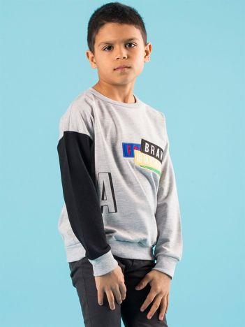 Bluza dla chłopca z naszywką