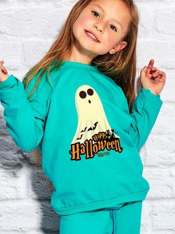 Bluza dziecięca Halloween z nadrukiem duszka morska
