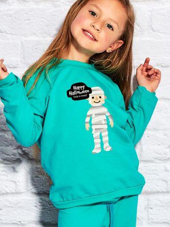 Bluza dziecięca z halloweenowym nadrukiem morska