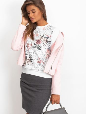 Bluza z modnym nadrukiem
