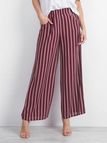 Bordowe spodnie Thriving