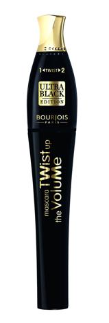 "Bourjois Twist Up The Volume Maskara Ultra Black  8ml"""