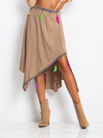 Brązowa spódnica AMAZON