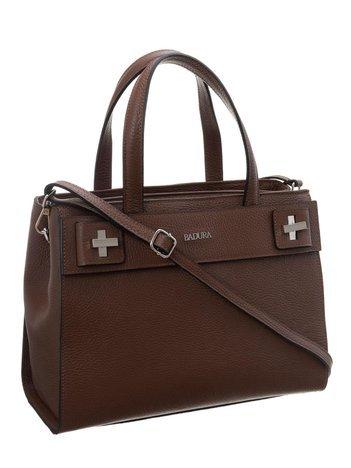 Brązowa torba shooper bag BADURA