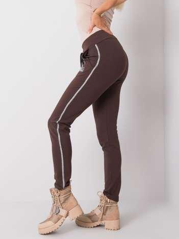 Brązowe spodnie Blanca