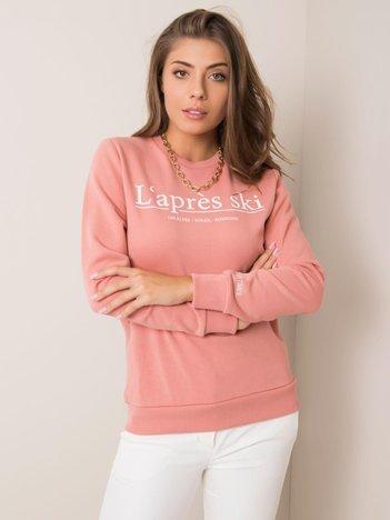 Brudnoróżowa bluza Stella STITCH & SOUL