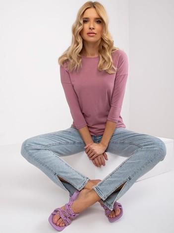Brudnoróżowa bluzka April