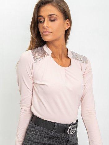 Brudnoróżowa bluzka Misty