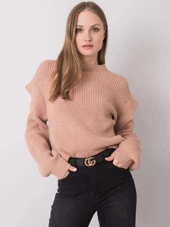 Brudnoróżowy sweter Constanca