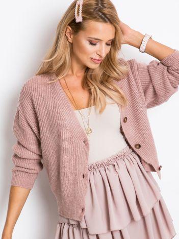 Brudnoróżowy sweter North