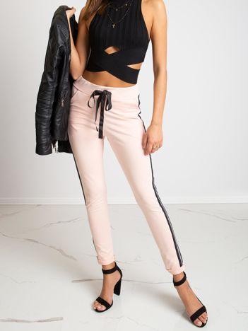 Brzoskwiniowe spodnie Max