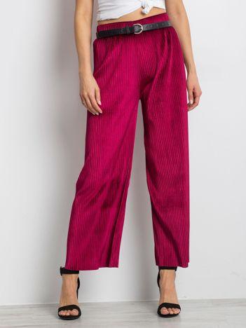 Burgundowe spodnie Continuum