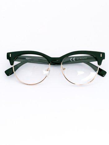 CAT EYE Damskie okulary zerówki