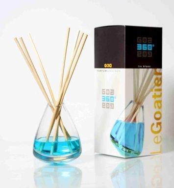 CLEM-GOA Dyfuzor zapachowy 360° 250 ml - Biały len