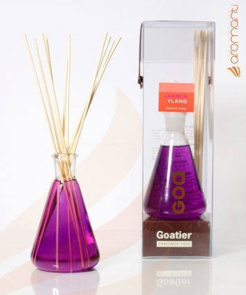 CLEM-GOA Dyfuzor zapachowy CLASSIQUE 300 ml - Jaśmin z Ylang