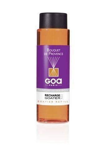 CLEM-GOA Zapas do dyfuzora zapachowego  250 ml - Bukiet z Prowansji