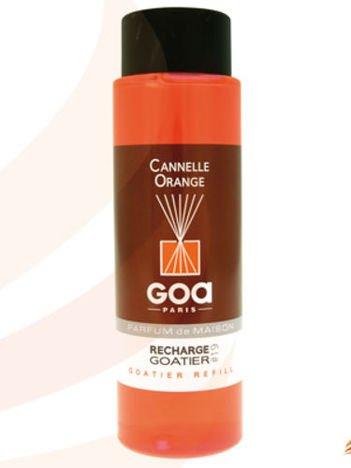 CLEM-GOA Zapas do dyfuzora zapachowego  250 ml - Cynamon z pomarańczą
