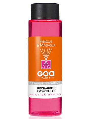CLEM-GOA Zapas do dyfuzora zapachowego  250 ml - Hibiskus i magnolia