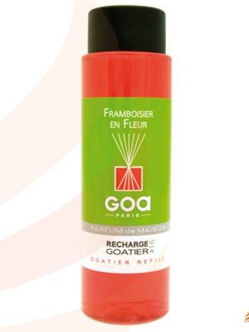 CLEM-GOA Zapas do dyfuzora zapachowego  250 ml - Kwiat malin