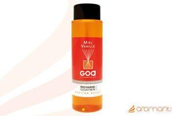CLEM-GOA Zapas do dyfuzora zapachowego  250 ml - Miód z wanilią