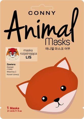 CONNY Maska animal lis rozjaśniająca 1 szt.