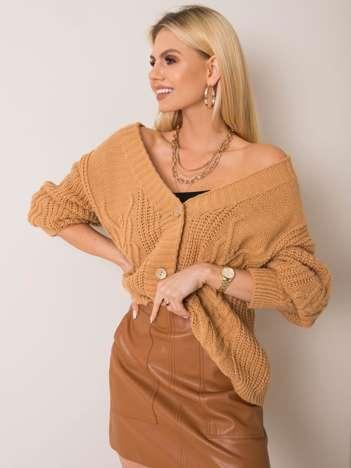 Camelowy sweter Gianna OCH BELLA