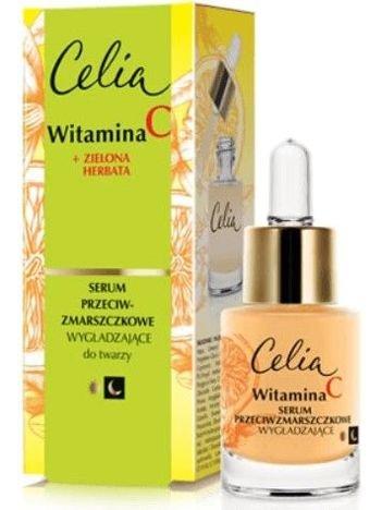 Celia Witamina C 45+ Wygładzające serum przeciwzmarszczkowe na dzień i noc 15 ml