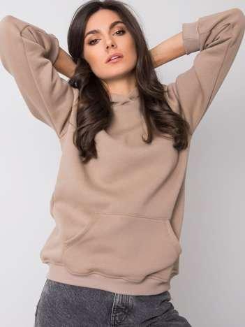 Ciemnobeżowa bluza Cindy