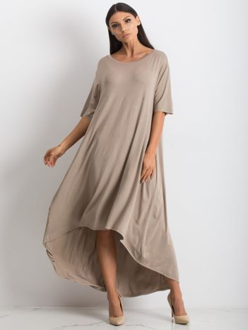 Ciemnobeżowa sukienka Mountaineering