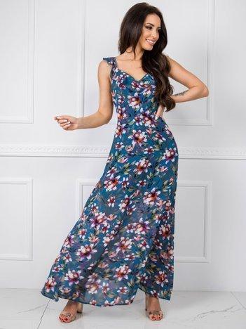 Ciemnoniebieska sukienka Dolly RUE PARIS