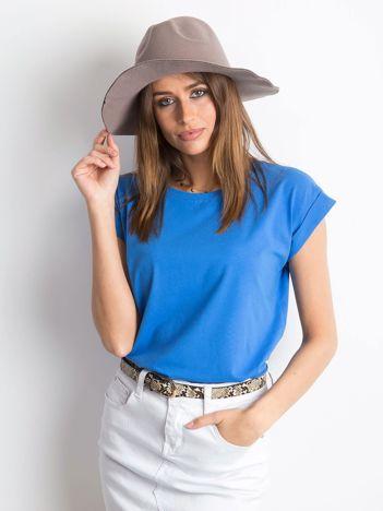 Ciemnoniebieski t-shirt Revolution