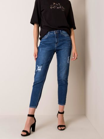 Ciemnoniebieskie jeansy Bella SUBLEVEL
