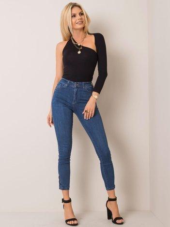 Ciemnoniebieskie jeansy Eliza RUE PARIS