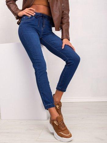 Ciemnoniebieskie spodnie Loan