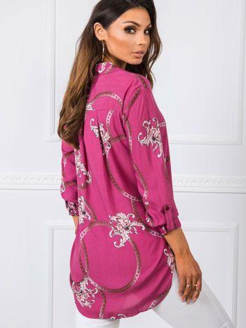 Ciemnoróżowa koszula Claudia RUE PARIS