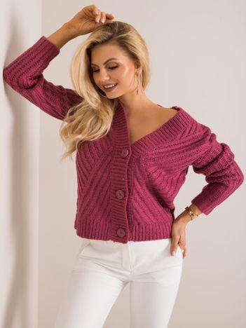 Ciemnoróżowy sweter Immone SUBLEVEL