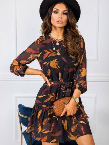 Ciemnoszara sukienka Utah RUE PARIS